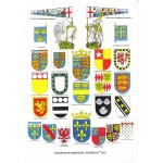 Heraldic Card : The Battle of Agincourt, 25th October 1415