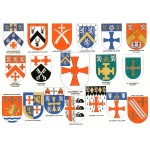 Heraldic Card : University of Durham